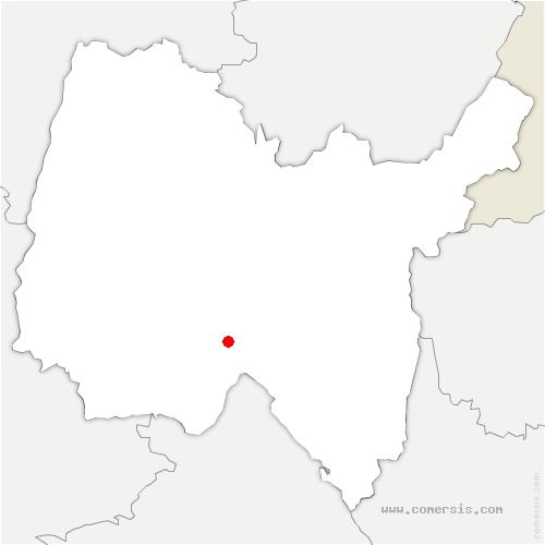 carte de localisation de Ambutrix