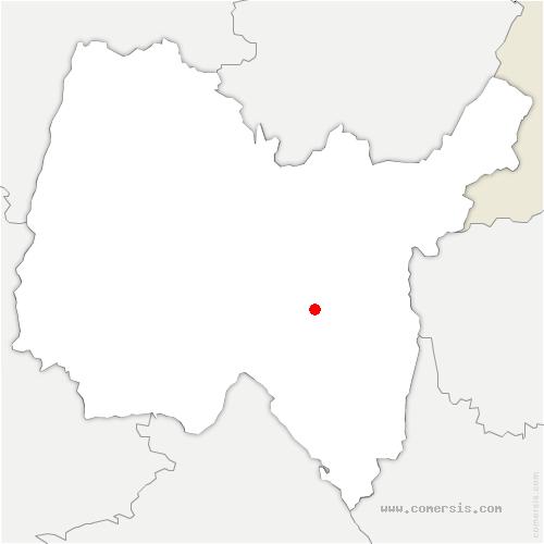 carte de localisation de Aranc