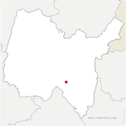 carte de localisation de Arandas