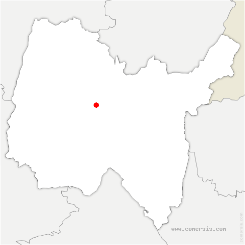 carte de localisation de Certines