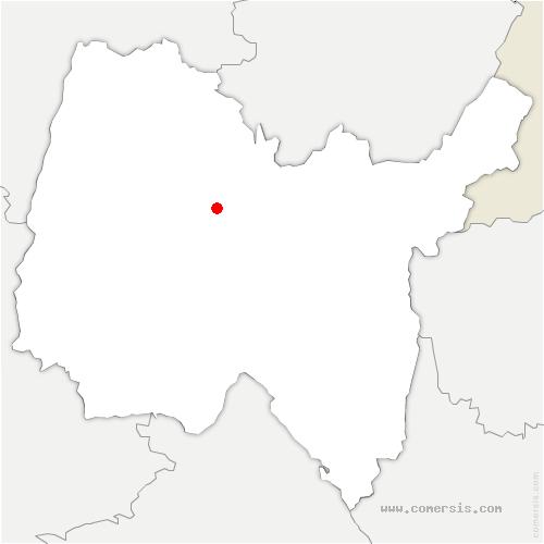 carte de localisation de Ceyzériat