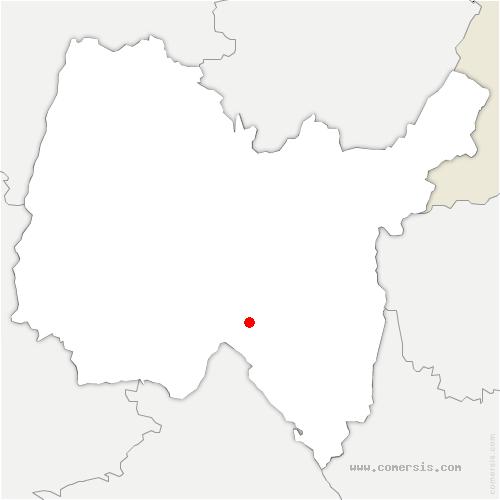 carte de localisation de Cleyzieu