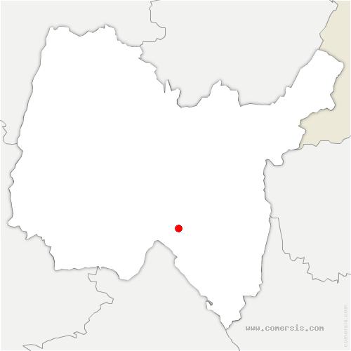 carte de localisation de Conand