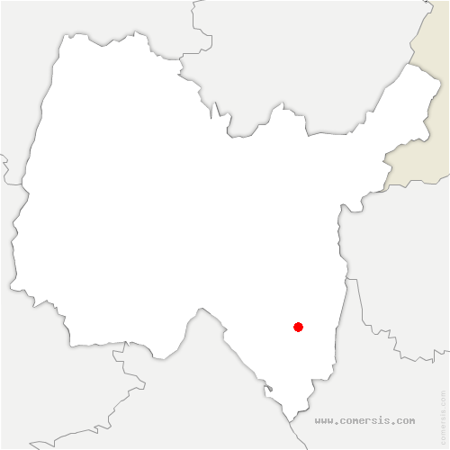 carte de localisation de Cuzieu