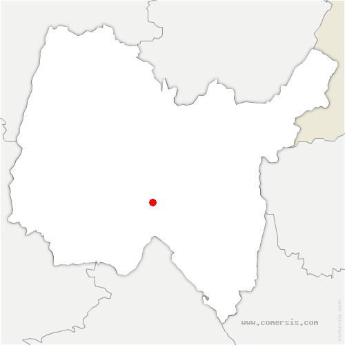 carte de localisation de Douvres