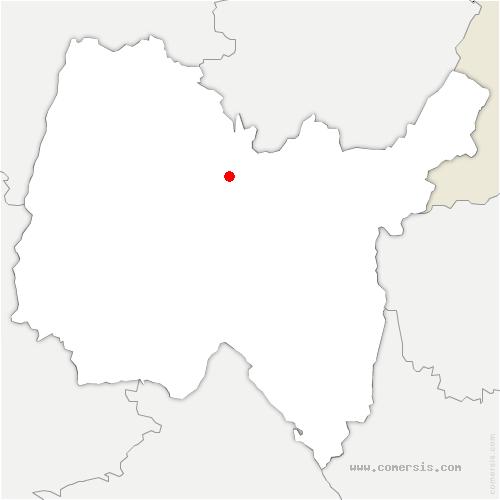 carte de localisation de Drom