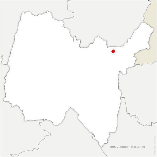 carte de localisation de Giron