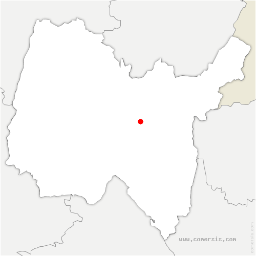 carte de localisation de Labalme
