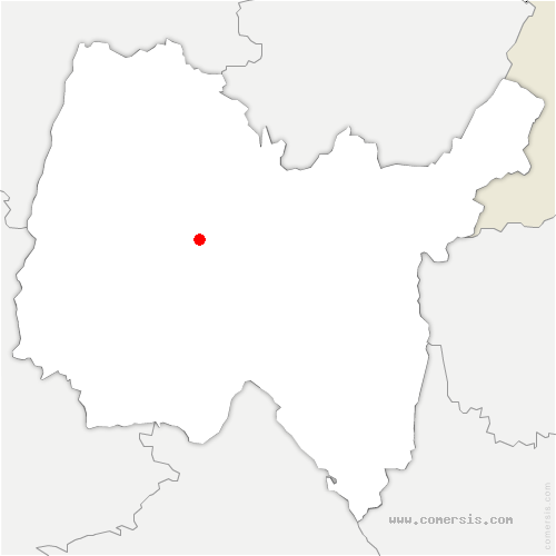 carte de localisation de Lent