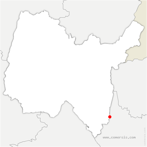 carte de localisation de Massignieu-de-Rives