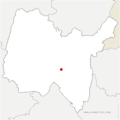 carte de localisation de Nivollet-Montgriffon