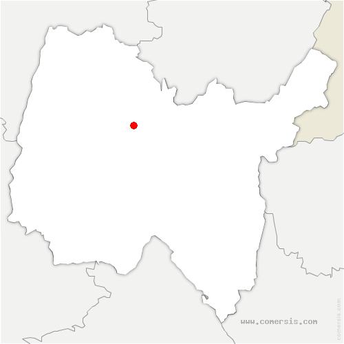carte de localisation de Saint-Just