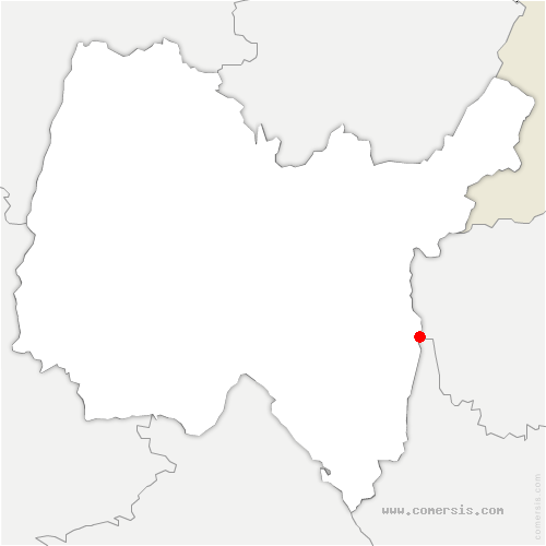 carte de localisation de Seyssel