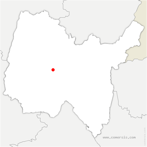 carte de localisation de Tranclière