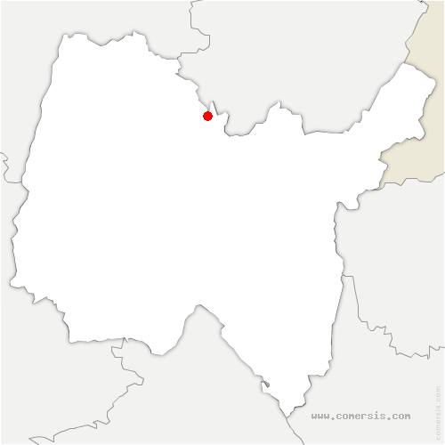 carte de localisation de Val-Revermont