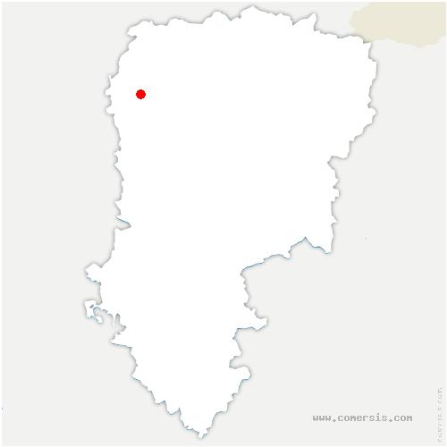 carte de localisation de Dallon