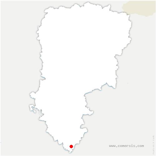 carte de localisation de Dhuys-et-Morin-en-Brie