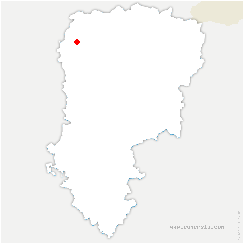 carte de localisation de Holnon