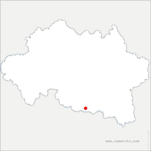 carte de localisation de Charmes