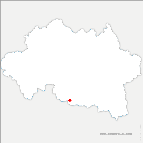 carte de localisation de Gannat