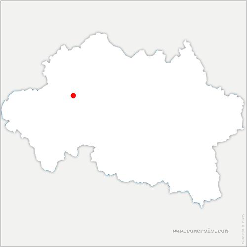 carte de localisation de Venas