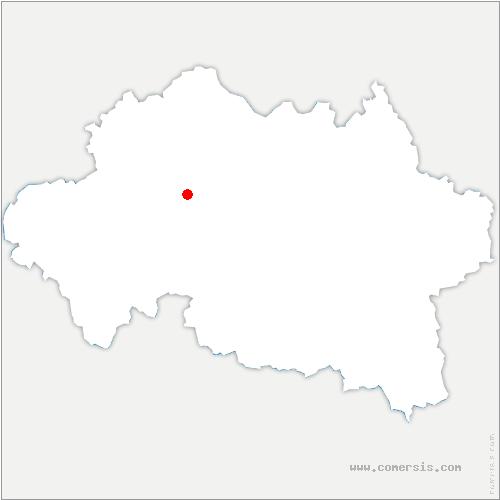 carte de localisation de Vieure