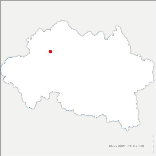 carte de localisation de Vilhain
