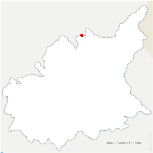 carte de localisation de Ubaye-Serre-Ponçon