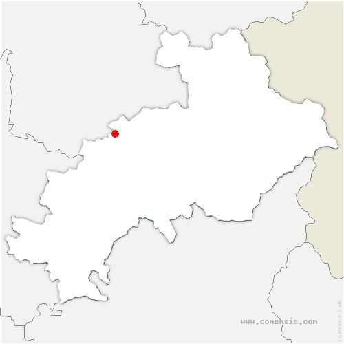 carte de localisation de Aubessagne