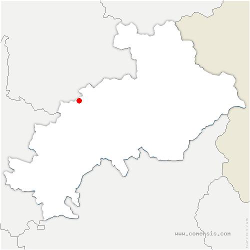 carte de localisation de Glaizil