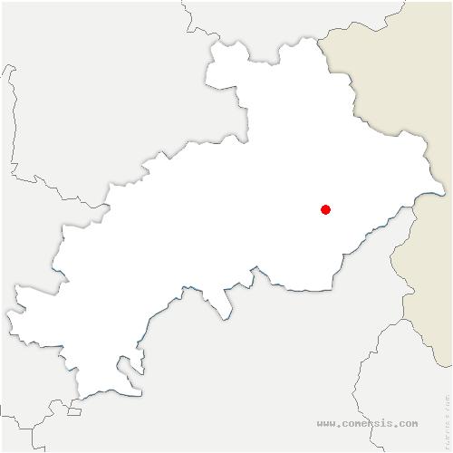 carte de localisation de Mont-Dauphin