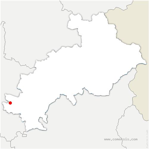 carte de localisation de Moydans
