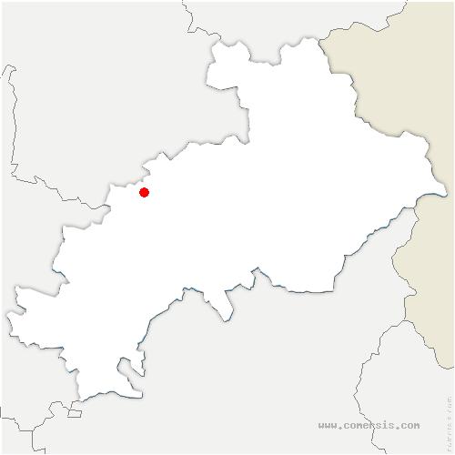 carte de localisation de Saint-Étienne-en-Dévoluy