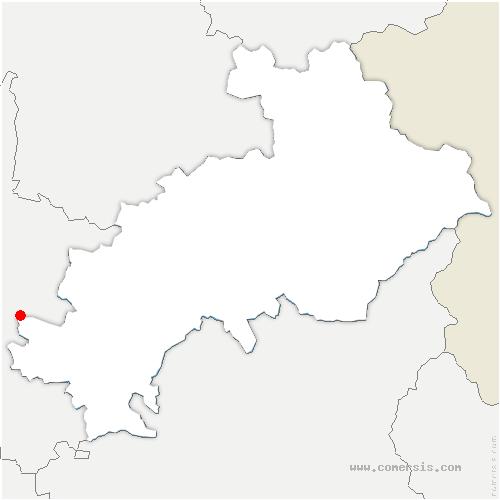 carte de localisation de Valdoule