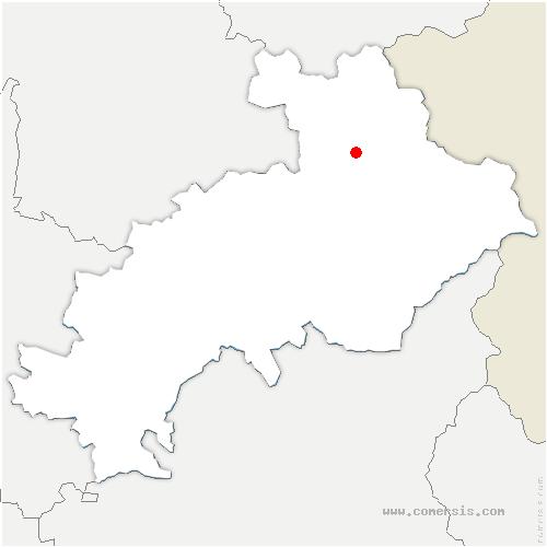 carte de localisation de Vallouise-Pelvoux