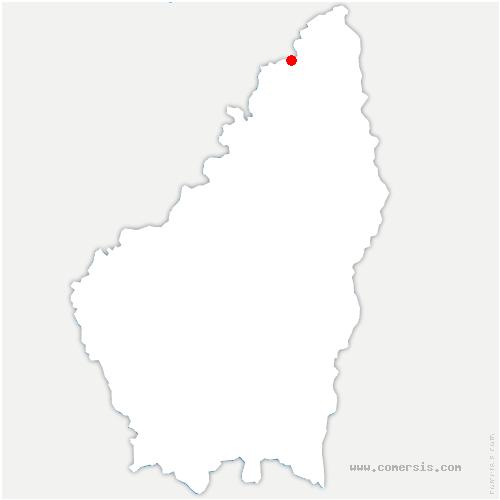 carte de localisation de Annonay
