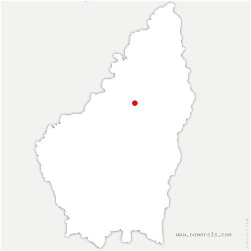 carte de localisation de Belsentes