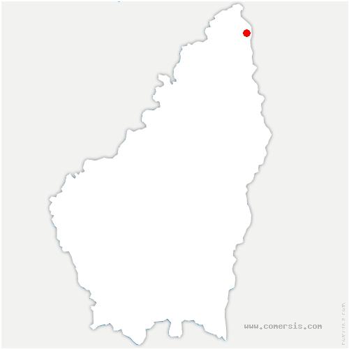 carte de localisation de Champagne