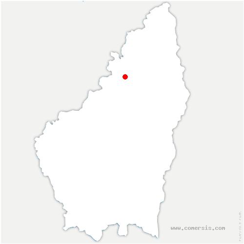 carte de localisation de Labatie-d'Andaure