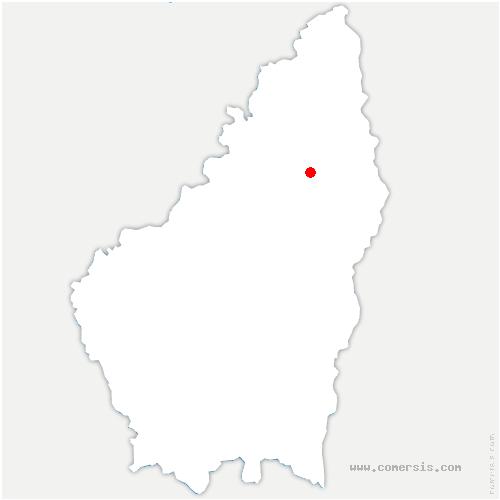 carte de localisation de Lamastre