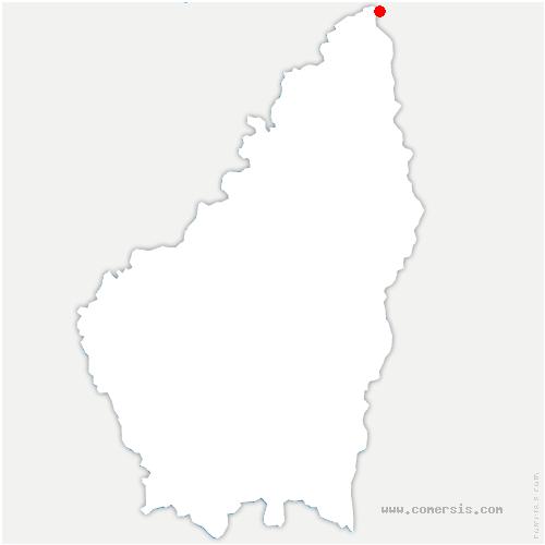 carte de localisation de Limony