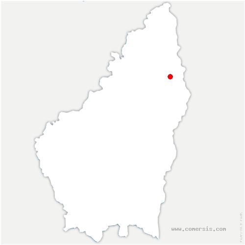 carte de localisation de Plats