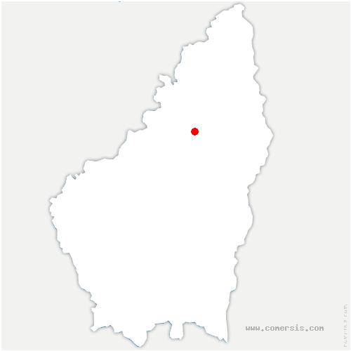 carte de localisation de Saint-Basile
