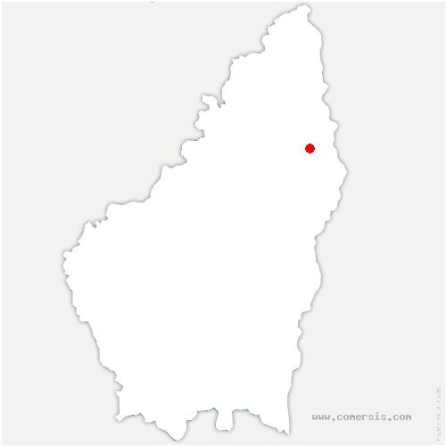 carte de localisation de Saint-Sylvestre