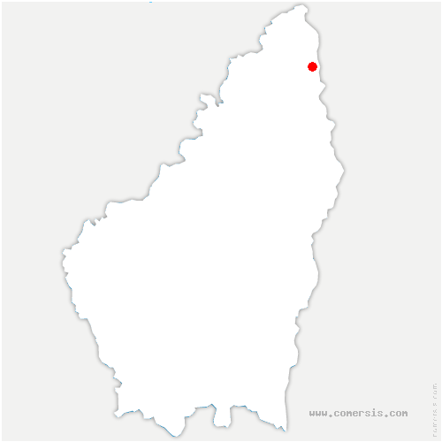 carte de localisation de Talencieux