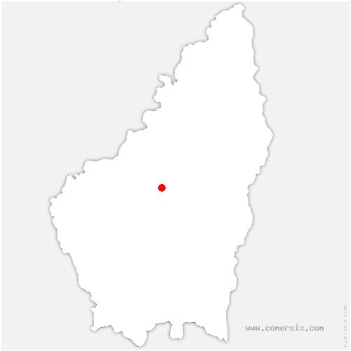carte de localisation de Vallées-d'Antraigues-Asperjoc