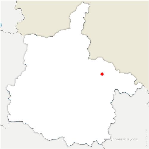 carte de localisation de Bazeilles