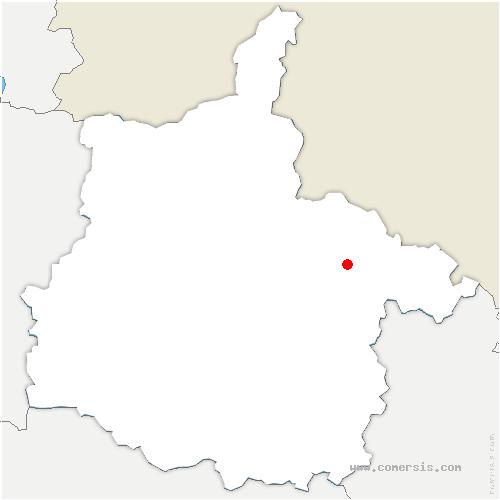 carte de localisation de Douzy