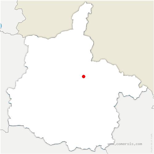 carte de localisation de Flize