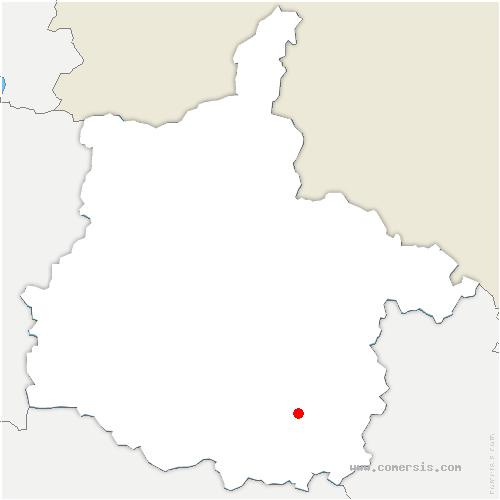 carte de localisation de Grandpré
